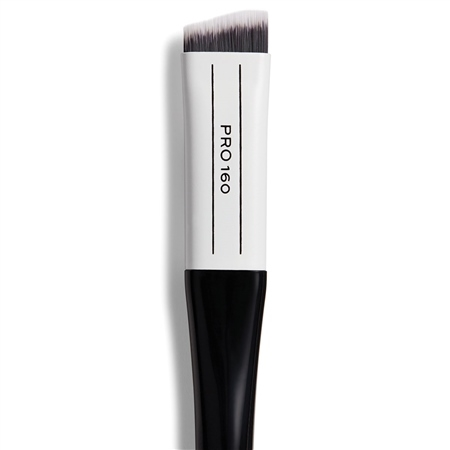 Image of   Makeup Revolution Pro 160 Angled Flat Brush
