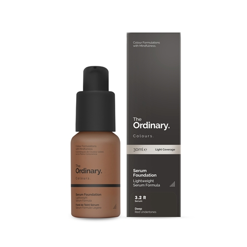 Image of   The Ordinary Serum Foundation 3.2 R deep Red