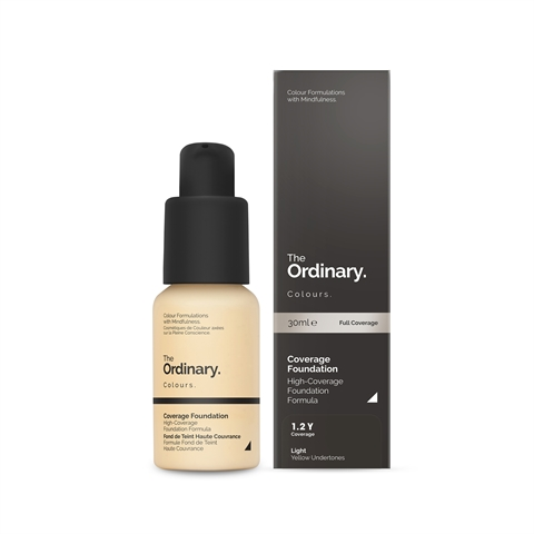 Image of   The Ordinary Coverage Foundation 1.2 Y light Yellow
