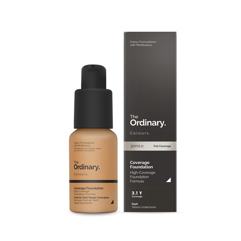 Image of   The Ordinary Coverage Foundation 3.1 Y dark Yellow