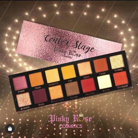 Image of   Pinky Rose Cosmetics CENTER STAGE EYE SHADOW PALETTE