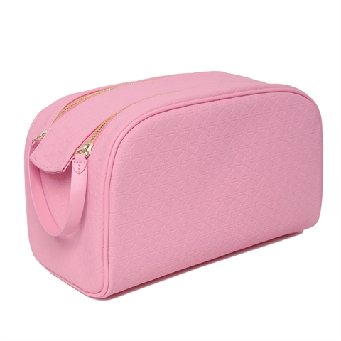 Image of   Jeffree Star Cosmetics Bag SD X JSC Double Zip Bag Pink