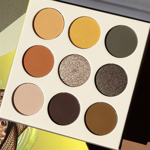Image of   Juvias Place The Nomad Eyeshadow Palette