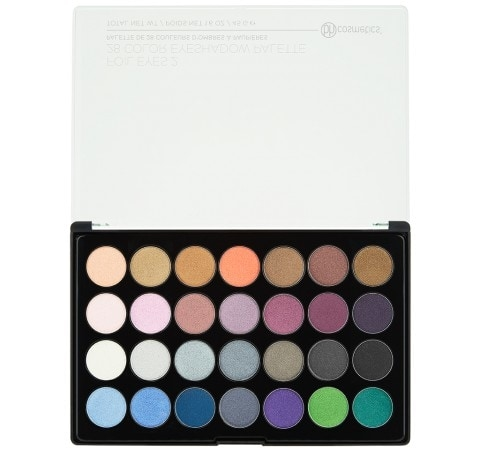 Image of   BH Cosmetics - Foil Eyes 2 - 28 Color Eyeshadow Palette