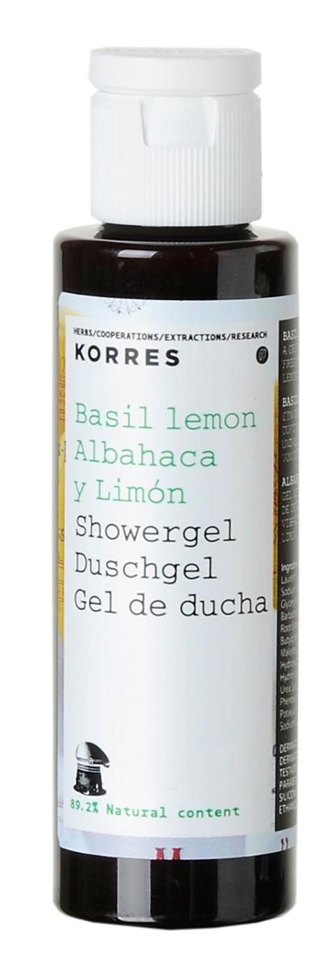 -Korres Body Shampoo Basil 40 ml