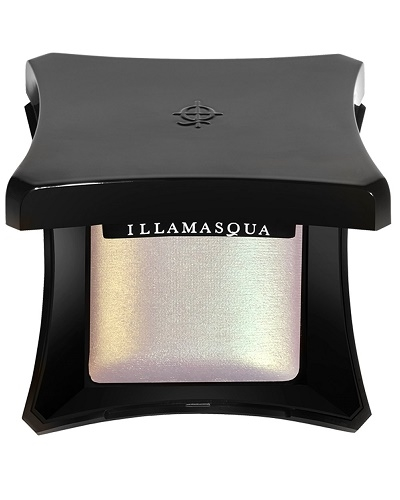 Image of   Illamasqua Beyond Powder in Deity Green Gold Shimmer