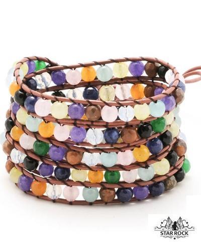 Image of   Glastonbury wrap armbånd
