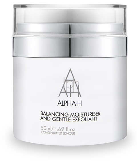 Image of   Alpha-H Balancing Moisturiser & Gentle Exfoliant 50ml