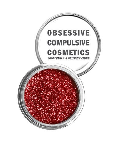 OCC COSMETIC GLITTER - Red