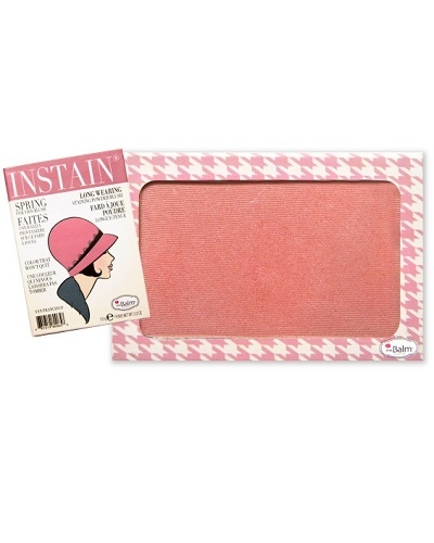 Image of   The Balm INSTAIN Long-Wearing Powder Staining Blush - Houndstooth (Mauve)