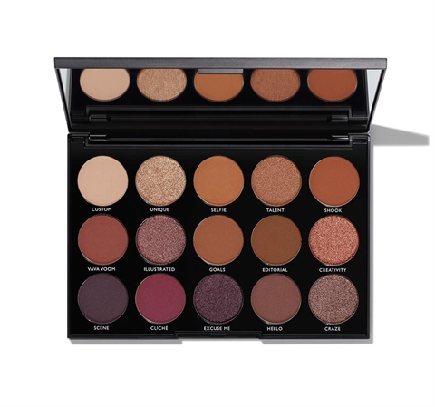 Image of   15N NIGHT MASTER EYESHADOW PALETTE