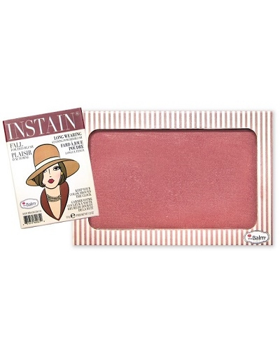Image of   The Balm INSTAIN Long-Wearing Powder Staining Blush - Pinstripe
