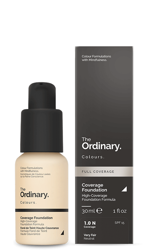 Image of   The Ordinary Coverage Foundation 1.0 N very fair Neutral