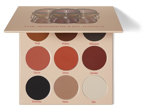 Image of   Juvias Place The Warrior II Eyeshadow Palette